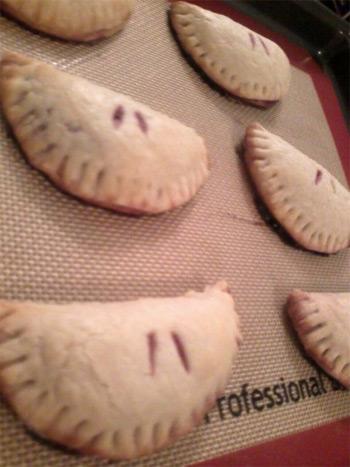 raspberry individual pies